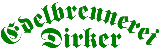 Edelbrennerei Dirker Shop-Logo